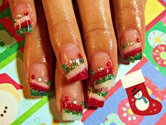 Christmas Sweater Party - Nail Art Gallery