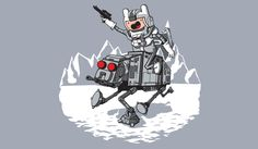Adventure Time meets Star Wars.