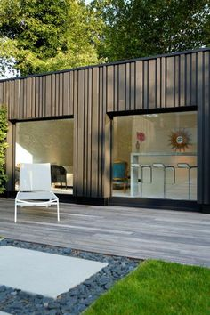 Steel Cladding, House Cladding, Timber Cladding, House Siding, Open House Plans, Arch House, Modern Tiny House, Forest House, Dream House Exterior