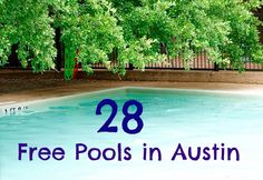 Free Fun in Austin: Splash Pads Around Austin - 2012 Schedules