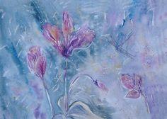 Olga Pavlova.Joy of Creation.: Cyclamen...