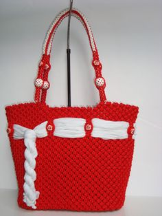 Macrame,Handmade fashion bag                                                                                                                                                     More