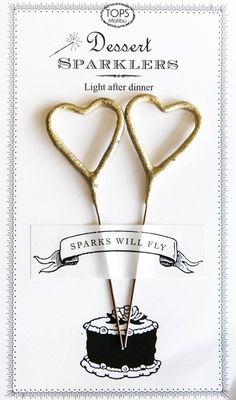 Pigment - Dessert Heart Sparklers Card, $8.50 (http://www.shoppigment.com/dessert-heart-sparklers-card/)