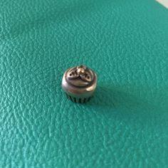 Pandora Cupcake Charm Pandora Silver cupcake charm Pandora Jewelry