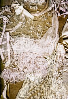 Pretty Things 1 - Lingerie Art By Sharon Cummings by Sharon Cummings