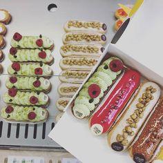 Je n'ai jamais su choisir 😜  Chez Christophe Adam #Foudepatisserie #Eclairdegenie  #Delice #Epicureanlifestyle #Patisserie #Gourmandise #Pastry #FrenchPastry #leclairdegenie #Sweet #beau #lifestyle #Hapinessisachoice #BestinParis #Paris