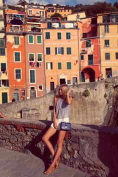 By Jessica Stein - Tuula / Cinque Terre,italian riviera Travel Pictures, Travel Photos, Yacht Week, Summer Minimalist, Italian Street, Artsy Photos, Italian Summer, Photos Voyages, Italy Fashion