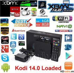 Android tv box: Android TV Box MXQ Amlogic S805 chính hãng,giá rẻ ...