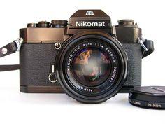 Nikon Nikomat EL 35mm SLR Film Camera