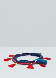 Tassels belt
