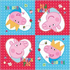 PEPPA PIG SET COMPLETO FESTA COMPLEANNO BICCHIERI PIATTI TOVAGLIA TOVAGLIOLI | eBay