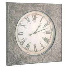 """24.5"""" Metro Square Clock"""