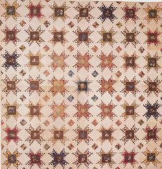Pieced Star Quilt, 1850. Quilts of Virginia 1607-1899. I love this quilt!