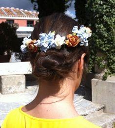 look boda cornona flores - Buscar con Google