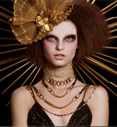 Legendary makeup artist Alex Box - interpretation of a flapper