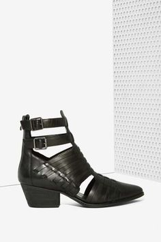 Riders in the Sky Leather Boot