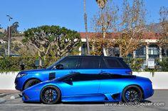 Lamborghini Murcielago spotted in Malibu, California