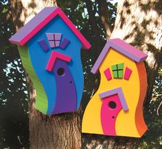 Cute Birdhouse Patterns from The Winfield Collection that can be ordered.