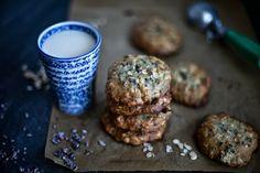 Biscuits à l'avoine, Chocolat, Banane & Cardamome (Faibles en gras et en sucre)