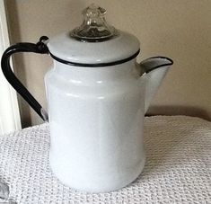 Vintage Coffee Maker - I remember one of these at my grandparents' ranch in Texas.