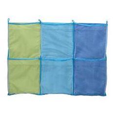 """KUSINER wall pockets, blue Width: 23 ½ """" Height: 17 ¾ """" Width: 60 cm Height: 45 cm"""