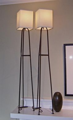 salvage lighting from hairpin rebar legs, Furniture Revival, Chicago