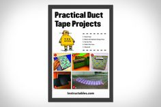 @Melissa Maddocks I bet this would be great for Christine :)   Practical Duct Tape Projects