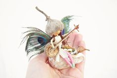 baby shower gift Waldorf mobile Fairy by DancingSeedsMobiles, $69.00