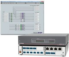 Extron Introduces Six-Input, Four-Output Audio Expansion Processor With AEC and Dante