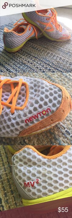 Newton running shoes Super lightweight and in great condition. Tons of life left  in these bad boys. A few stains on the soles. Retails for $129.00! Newton Shoes Sneakers