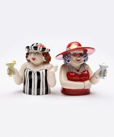Loving this Sophisticated Ladies Salt & Pepper Shakers on #zulily! #zulilyfinds                  $11.99