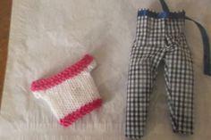 Handmade  Trouser Set Outfit for Barbie Dolls   (nannycheryloriginal) 1317 £3.50