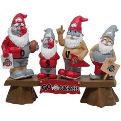 Ohio State Buckeyes Gnome Fan Bench - Yep, we have these guys too.