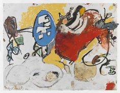 Eddie Martinez, Untitled, 2016 Eddie Martinez, Frank Stella, Canvas, Painting, Paint, Tela, Painting Art, Canvases, Paintings