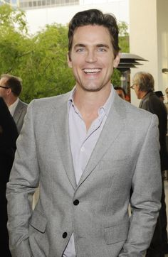 Matthew Bomer - sweet smile.