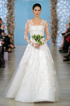 Have you checked out the latest dresses from this season's bridal market?