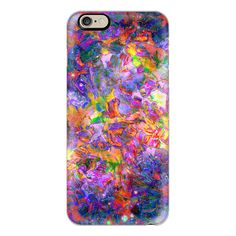 iPhone 7 Plus/7/6 Plus/6/5/5s/5c Case - FLORAL NEBULA - Bold Colorful... ($40) ❤ liked on Polyvore featuring accessories, tech accessories, iphone case, galaxy iphone case, floral iphone case, flower iphone case, iphone cases and apple iphone case