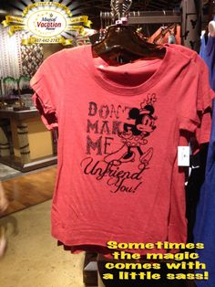 What's your favorite piece of Disney clothing that you own?!