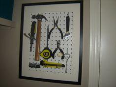 Stylish Ribba Tool Display - IKEA Hackers