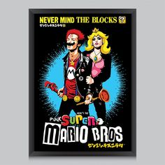 Affiche Mario Bros