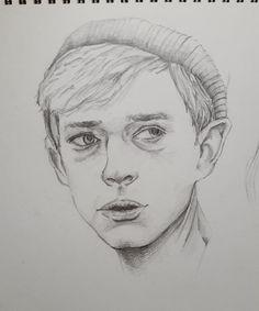 Dane dehaan drawing