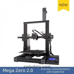 Look at this amazing ANYCUBIC 3D Printer Mega Zero 2.0! Get it only for 190.74$! #3DPrinters #3DPrintersandParts #ConsumerElectronics Cheap 3d Printer, Zero 2, 3d Printer Filament, Diy Frame, Drafting Desk, Consumer Electronics, 3d Printing, Image, Amazing