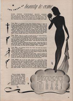 Tuppence Ha'penny: The Shape of Beauty (1940)