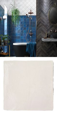 With their bumpy surface and raw edging, these Vernice Cloud Tiles have a charming vintage appearance; perfect for a characterful bathroom or kitchen wall. Wall And Floor Tiles, Wall Tiles, Bathroom Designs, Bathroom Ideas, White Tiles, Shades Of White, Bathroom Wall, Bathroom Inspiration, Glaze