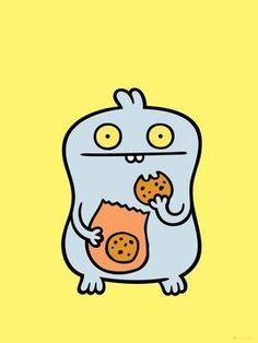 Babo Cookie Bag by UGLYDOLL | Thumbtack Press: Authentic ...