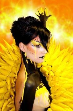 Yellow tears My World, Body Art, My Arts, Yellow, Design, Body Jewelry