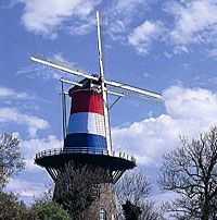 Windmill Leiden Holland