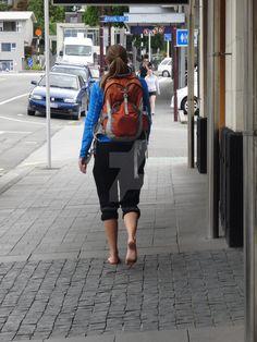 barefoot backpacker ....N.Z.....4  of 4 by barefootgirls1.deviantart.com on @DeviantArt