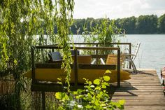 Entire home/apt in Berlin, Germany. Lakehouse with private Dock and water access, only 30 minutes to Downtown Berlin. Public transportation to town available. One Bedroom, new renovated Bathroom and kitchen/living area. Free parking in front of property. Cleanest lake in Berlin, per...