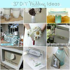 30+ DIY Wedding Ideas via chasethestar.net #wedding #DIYWedding #DIYcraft